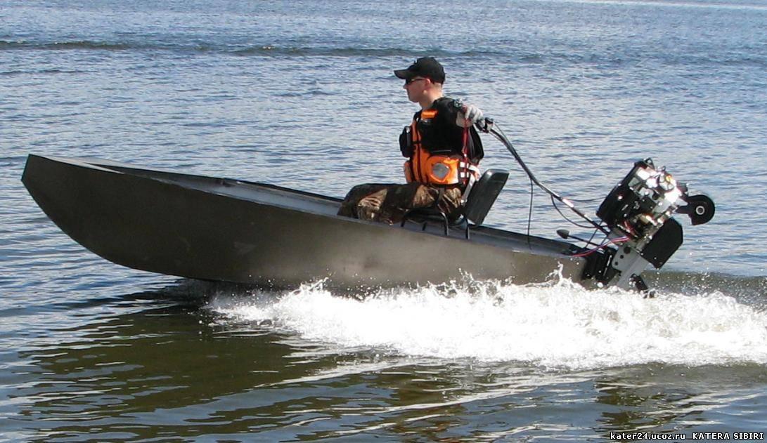 болотоходный мотор на лодку